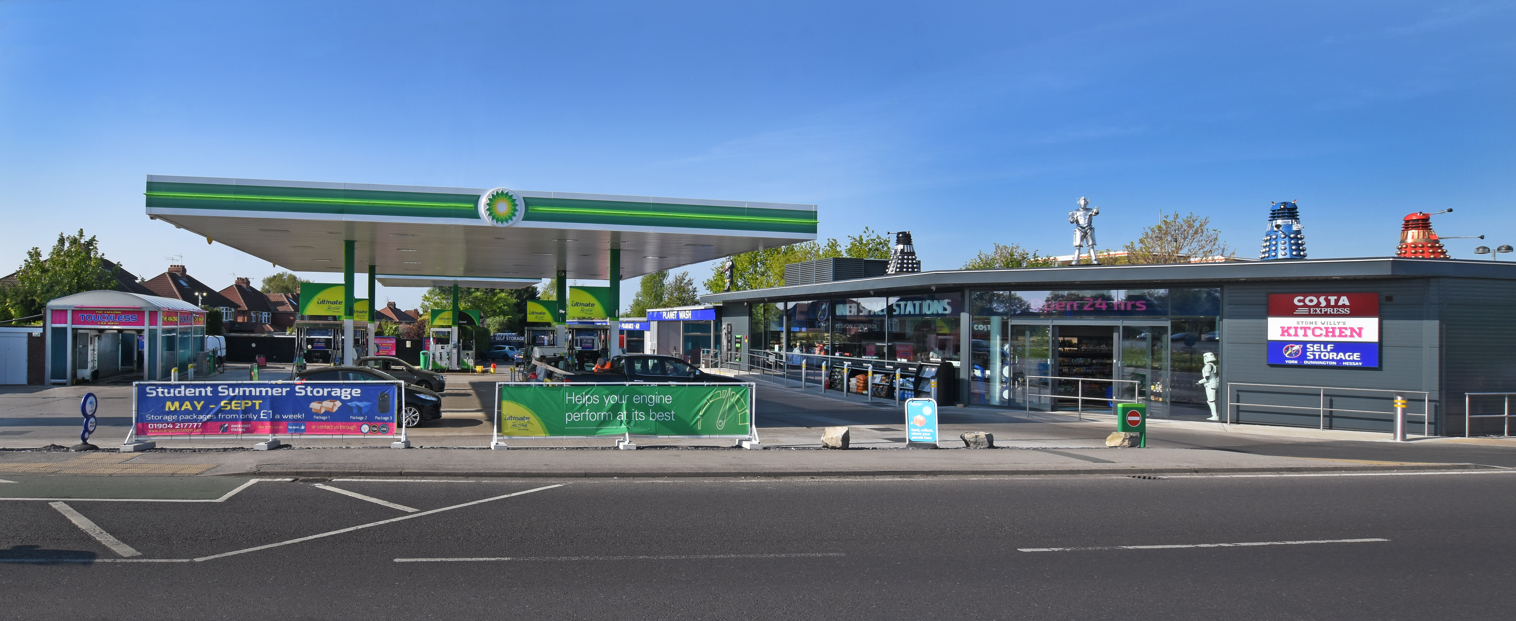 Hull Road Service Station